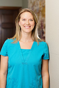 Portrait of Leslie Badgett, RN, BSN, IV Therapy Registered Nurse