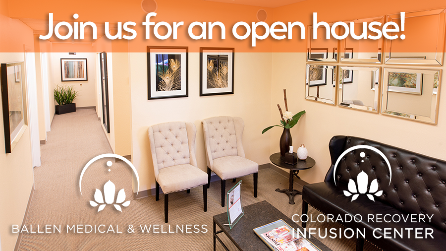 Join Us For An IV Therapy & Wellness Open House!